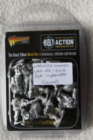 Warlord Games 28mm WGB-BI-059 British Expeditionary Force Infantry Squad